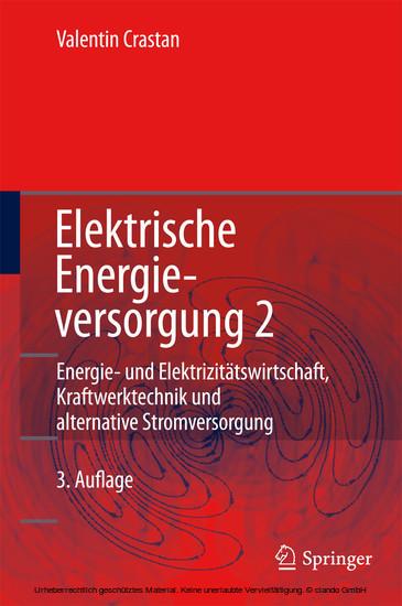 Elektrische Energieversorgung 2 - Blick ins Buch