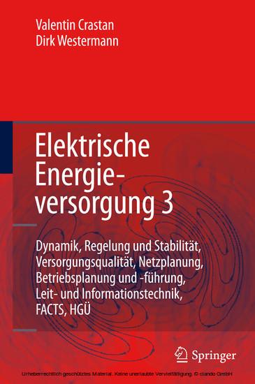 Elektrische Energieversorgung 3 - Blick ins Buch