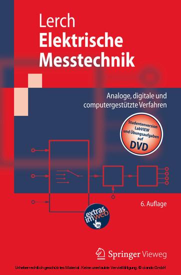 Elektrische Messtechnik - Blick ins Buch