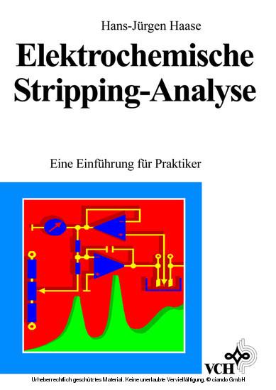 Elektrochemische Stripping-Analyse - Blick ins Buch