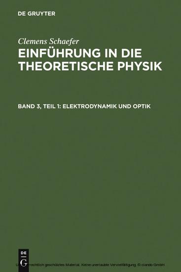 Elektrodynamik und Optik - Blick ins Buch