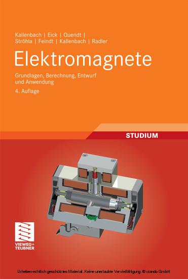 Elektromagnete - Blick ins Buch