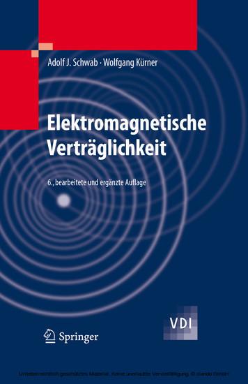 Elektromagnetische Verträglichkeit - Blick ins Buch