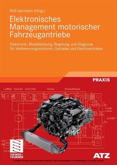 Elektronisches Management motorischer Fahrzeugantriebe - Blick ins Buch