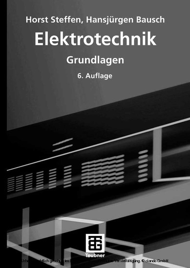 Elektrotechnik - Blick ins Buch