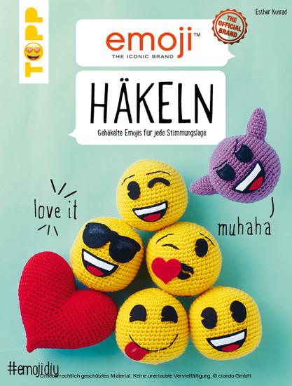 Emoji Häkeln - Blick ins Buch