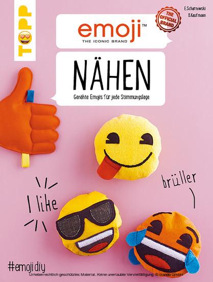 Emoji Nähen - Blick ins Buch