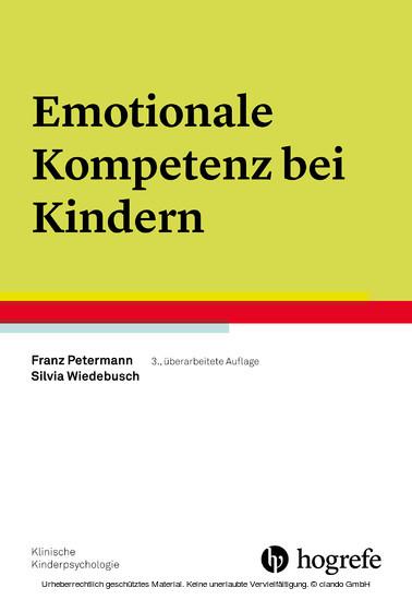 Emotionale Kompetenz bei Kindern - Blick ins Buch
