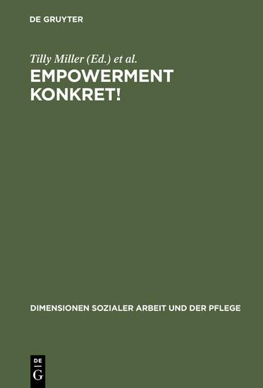 ?Empowerment konkret! - Blick ins Buch
