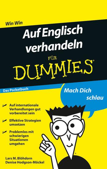 Auf Englisch verhandeln für Dummies Das Pocketbuch - Blick ins Buch