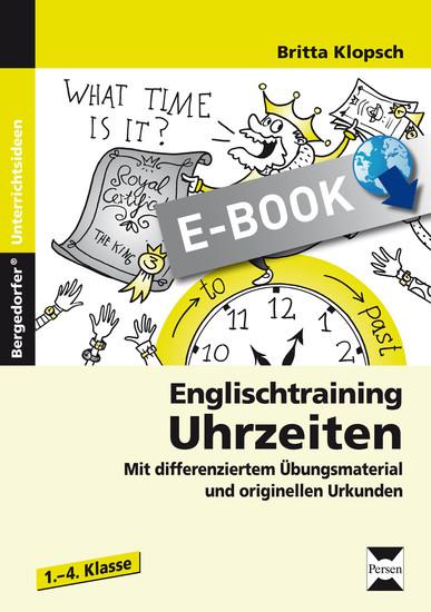 Englischtraining: Uhrzeiten - Blick ins Buch