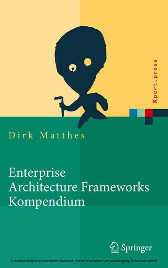 Enterprise Architecture Frameworks Kompendium - Blick ins Buch