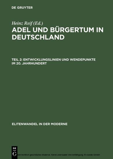 Entwicklungslinien und Wendepunkte im 20. Jahrhundert - Blick ins Buch