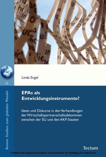 EPAs als Entwicklungsinstrumente? - Blick ins Buch
