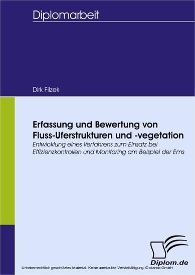 Erfassung und Bewertung von Fluss-Uferstrukturen und -vegetation - Blick ins Buch