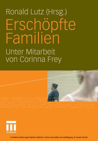 Erschöpfte Familien - Blick ins Buch