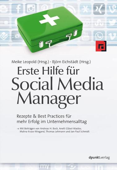 Erste Hilfe für Social Media Manager - Blick ins Buch
