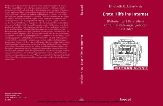 Erste Hilfe ins Internet - Blick ins Buch