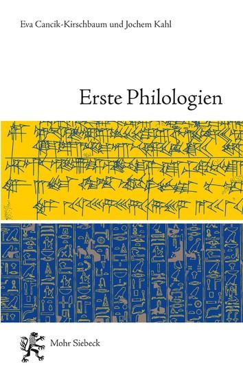 Erste Philologien - Blick ins Buch
