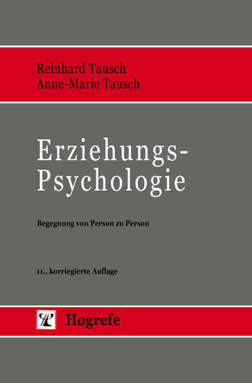Erziehungspsychologie - Blick ins Buch