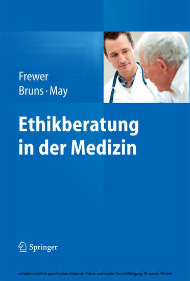Ethikberatung in der Medizin - Blick ins Buch