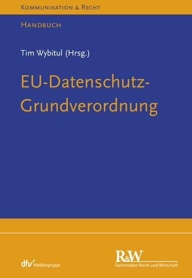 EU-Datenschutz-Grundverordnung - Blick ins Buch
