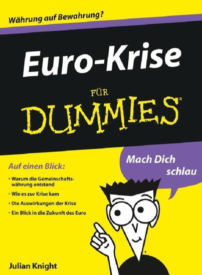Euro-Krise für Dummies - Blick ins Buch