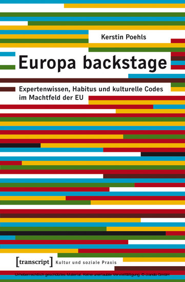 Europa backstage - Blick ins Buch