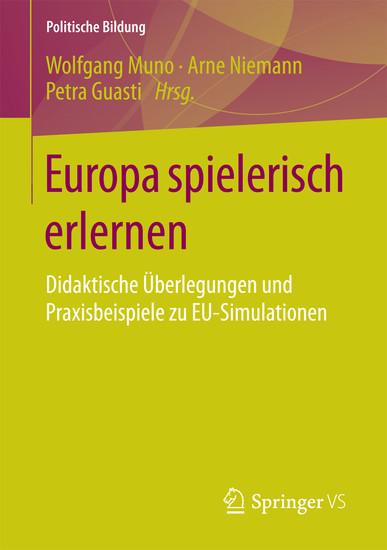 Europa spielerisch erlernen - Blick ins Buch