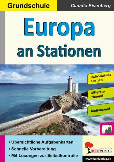 Europa an Stationen / Grundschule - Blick ins Buch