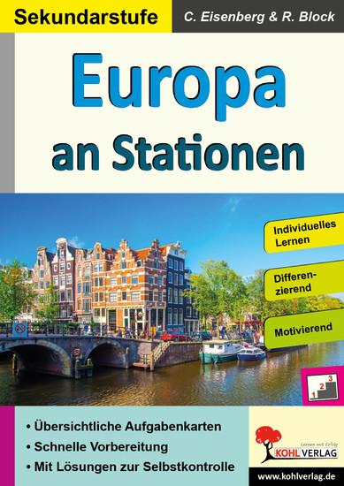 Europa an Stationen / Sekundarstufe - Blick ins Buch