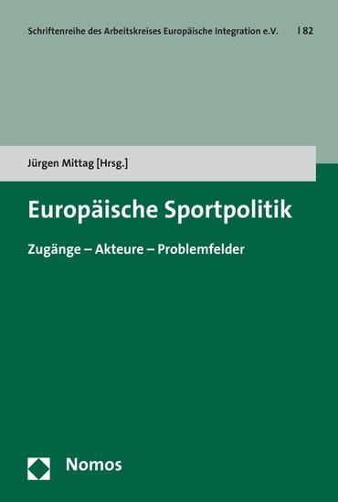 Europäische Sportpolitik - Blick ins Buch