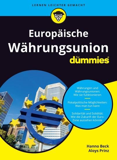 Europäische Währungsunion für Dummies - Blick ins Buch