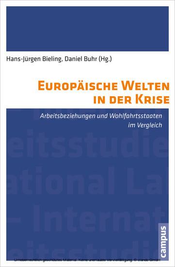 Europäische Welten in der Krise - Blick ins Buch