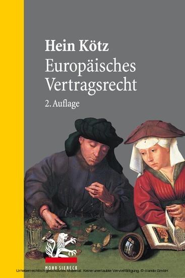 Europäisches Vertragsrecht - Blick ins Buch