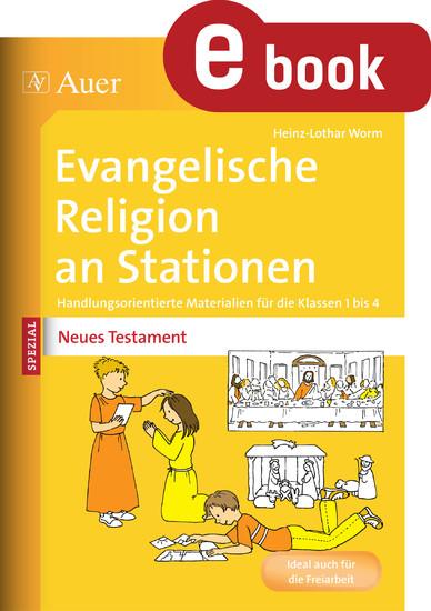 Ev. Religion an Stationen Spezial Neues Testament - Blick ins Buch