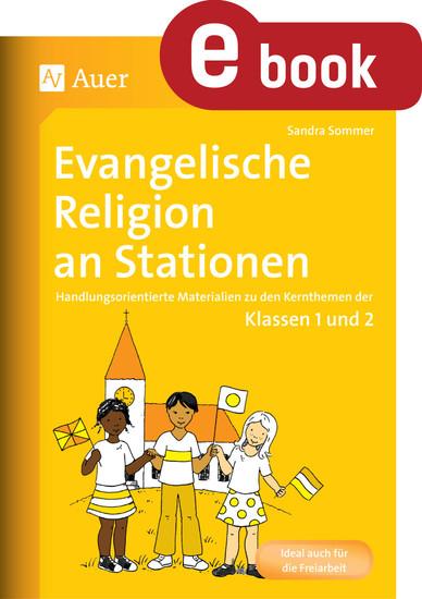 Evangelische Religion an Stationen - Blick ins Buch