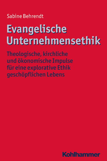 Evangelische Unternehmensethik - Blick ins Buch