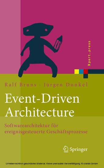 Event-Driven Architecture - Blick ins Buch