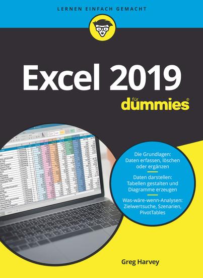 Excel 2019 für Dummies, - Blick ins Buch