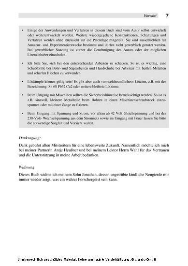 Experimente mit Heißluftmotoren - Blick ins Buch