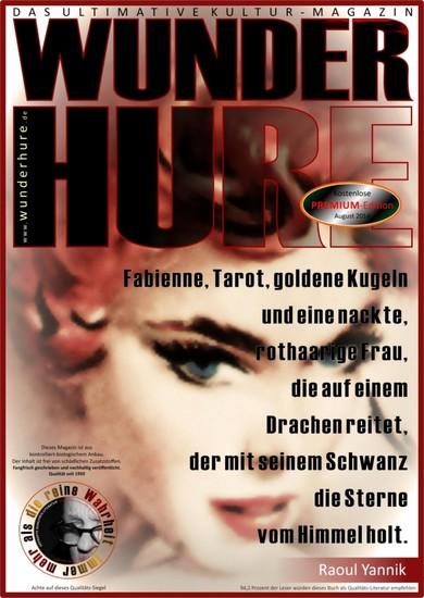 Fabienne, Tarot und goldene Kugeln - Blick ins Buch