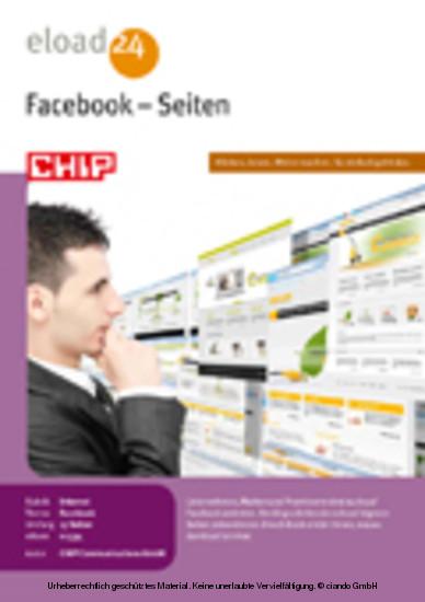 Facebook - Seiten - Blick ins Buch