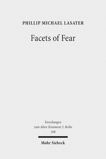 Facets of Fear - Blick ins Buch