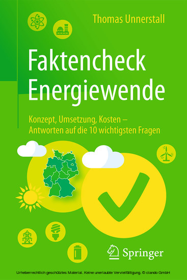 Faktencheck Energiewende - Blick ins Buch