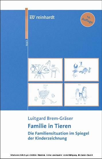 Familie in Tieren - Blick ins Buch