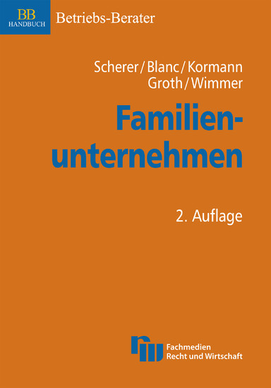 Familienunternehmen - Blick ins Buch