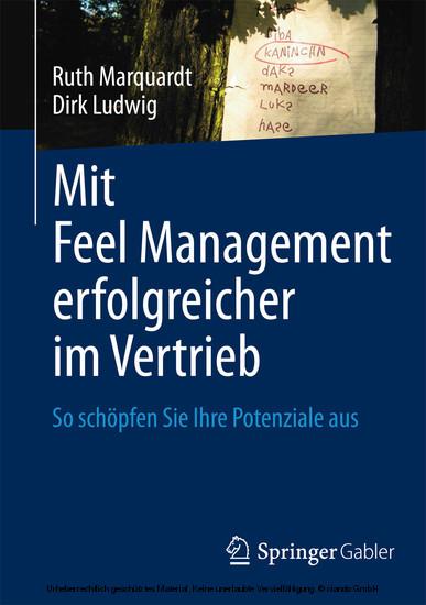 Mit Feel Management erfolgreicher im Vertrieb - Blick ins Buch