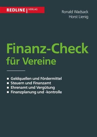 Finanz-Check für Vereine - Blick ins Buch