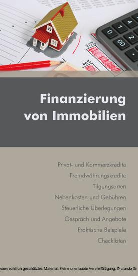 Finanzierung von Immobilien (Ausgabe Österreich) - Blick ins Buch